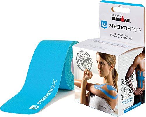 strengthtape-kinesiology-tape-1645m-roll-of-10-precut-strips-light-blue