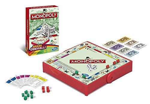 Hasbro Monopoly B1002100 – Monopoly Kompakt – Edition 2015, Spiel