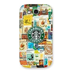 Impressive Coffee SB Multicolor Back Case Cover for Galaxy S3