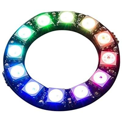 Adafruit 12 RGB LED Neopixel Ring by The Pi Hut