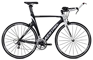 Kestrel Talon Tri Bicycle, Matte Black, Medium (55cm)