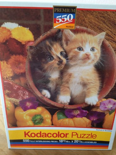 Kodacolor 550 Pc Two Kittens Puzzle