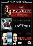 Apollo 13/Philadelphia/The Da Vinci Code [DVD]