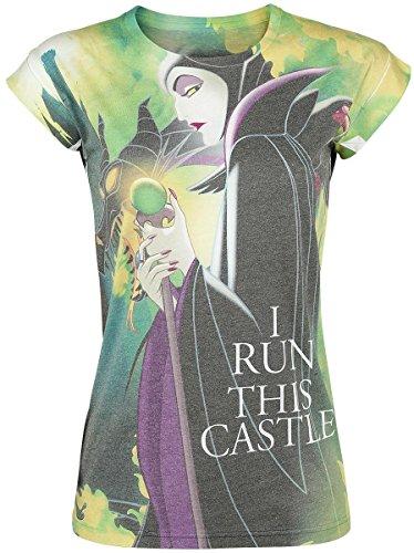Sleeping Beauty I Run This Castle Maglia donna multicolore XXL