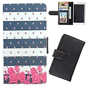 DooDa - For HTC Desire 310 PU Leather Designer Fashionable Fancy Flip Case Cover Pouch With Card, ID & Cash Slots And Smooth Inner Velvet With Strong Magnetic Lock