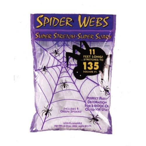 WMU 554651 11'L Polyblend Spider Web - 2 Pieces per Case