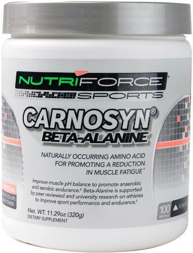 Carnosyn, Beta-Alanine - 320g by NutriForce Sports by NutriForce Sports