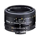 Nikon AF FX NIKKOR 50mm f/1.8D Lens with Auto Focus for Nikon DSLR Cameras