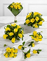 Yellow Wedding Calla Lily Collection 3