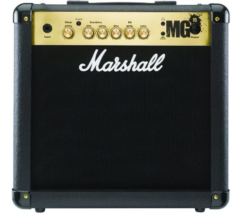 Marshall MG15 Guitar Combo Amplifier - 8 Inch, 15 Watts, 2 Channels