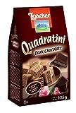 キタノ商事 ローカー クワドラティーニ ダークチョコレート 125g