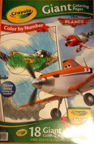 Crayola Disney Planes Giant Coloring Pages