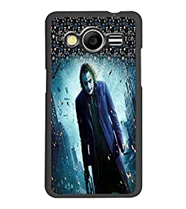 PrintDhaba Joker D-3994 Back Case Cover for SAMSUNG GALAXY CORE 2 G355H (Multi-Coloured)