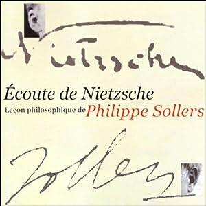 Écoute de Nietzsche Discours