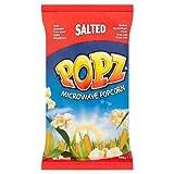Popz Salted Microwave Popcorn 100g Case of 15