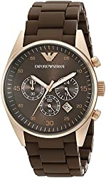 Emporio Armani Men's AR5890 Rose Gold-Tone Stainless Steel Watch
