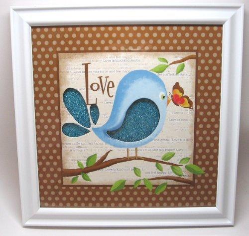 Love Bird Wall Art for Nursery