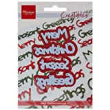 Marianne Design Creatables Dies - Merry Christmas/Season's Greetings LR0225