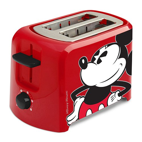 Red Mickey Mouse Pop-Up Toaster Gift for People Who Love Disney