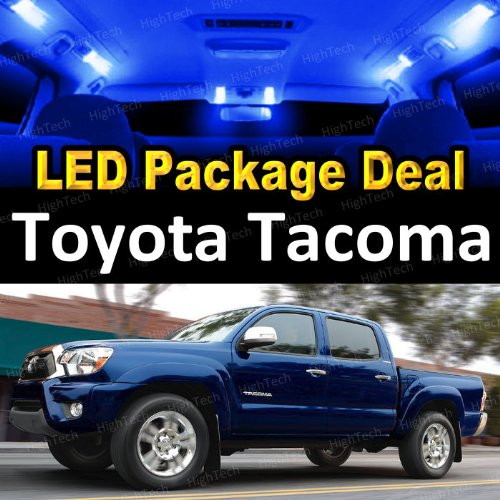 Led Interior Package Deal For 2007 Toyota Tacoma (5 Pieces), Blue
