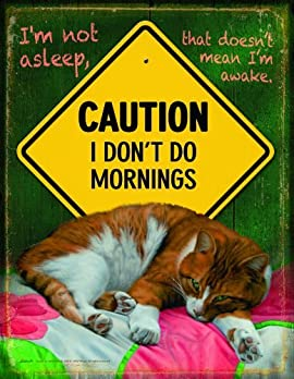 I Don't Do Mornings 1000+pc Jigsaw Puzzle by John Aldrich