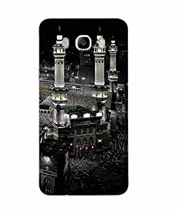 Snazzy Religion Printed Multicolor Soft Silicon Back Cover For Samsung Galaxy J7 2016