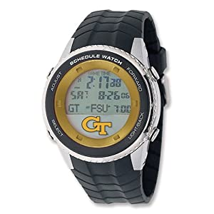 Mens Georgia Tech Schedule Watch by Jewelry Adviser Watches