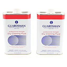 Guardsman Professional Strength Dry Cleaning Fluid Stain Remover Solution 32 Oz. (2)