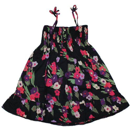 Girls Floral Strappy Summer Dress Age 4-5