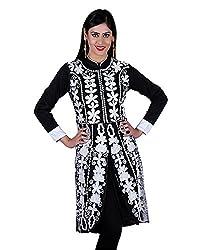 Elegance Expotex Women's Georgette Kurti (Multicolor , Free Size)