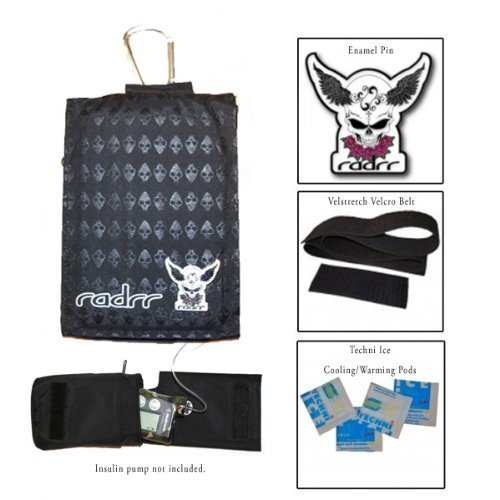 Insulin Pump Case Value Pack - Alien Skulls