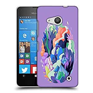 Snoogg Abstract Earth Designer Protective Back Case Cover For LUMIA 550