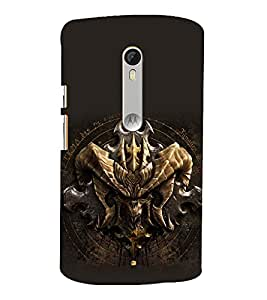 printtech Diablo Cool Game Back Case Cover for Motorola Moto X Style