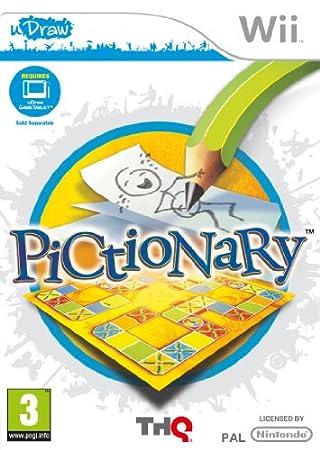 Pictionary - uDraw (Wii)