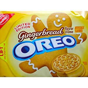 Amazon.com: Gingerbread Flavor Creme Oreos ~ Limited Edition!!