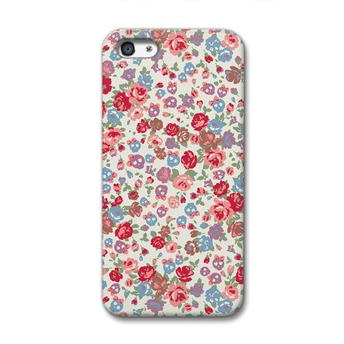 CollaBorn+iPhone5専用スマートフォンケース+Skull+Roses+【iPhone5対応】+OS-I5-289