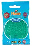 Hama Mini Beads Trans Green
