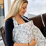 Udder Covers - Breast Feeding Nursing Cover (Gray)
