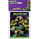 Teenage Mutant Ninja Turtles Invitations, 8 Count