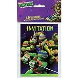 Teenage Mutant Ninja Turtles Invitations, 8 Count
