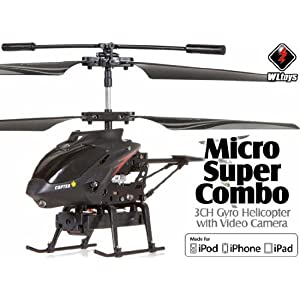 WLTOYS S215 BUILT IN VIDEO CAMERA! Ready-to-Fly RTF Super Micro Helicopter with Spy Camera WLTOYS S215 for iPad iPhone Android tablet at Sears.com