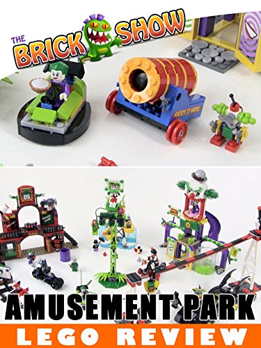 LEGO Super Heroes The Joker's Funhouse Amusement Park Revew