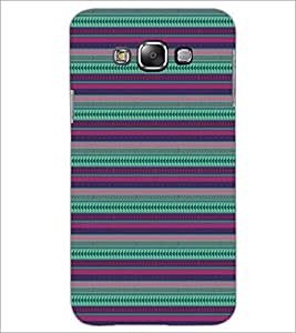 PrintDhaba Pattern D-5147 Back Case Cover for SAMSUNG GALAXY E7 (Multi-Coloured)