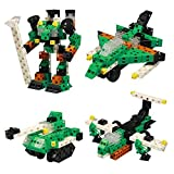 Click-A-Brick Army Defenders 100pc Educational Toys Building Block Set - Best Gift For Boys And Girl