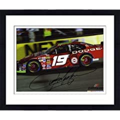 Framed Jeremy Mayfield Autographed 8 x 10 Photo - Mounted Memories Certified -... by Sports Memorabilia