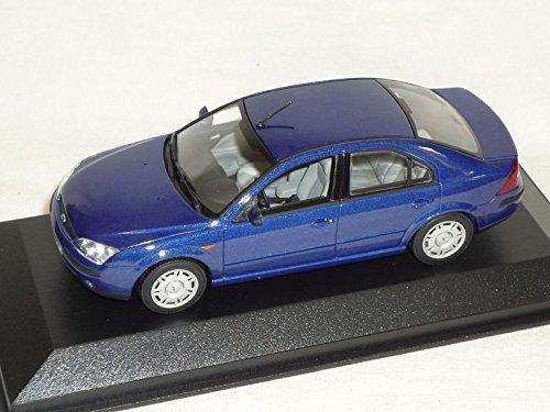 ford-mondeo-limousine-blau-2000-2007-1-43-minichamps-modell-auto-modellauto-sonderangebot