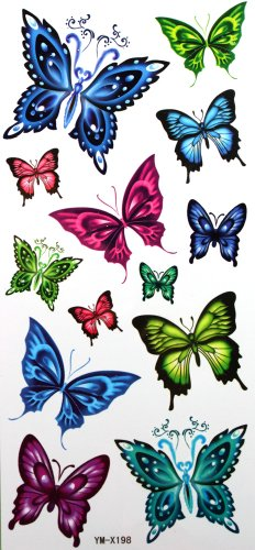 yimei-impermeabile-temporanea-tatuaggi-sexy-farfalla-in-viaggio