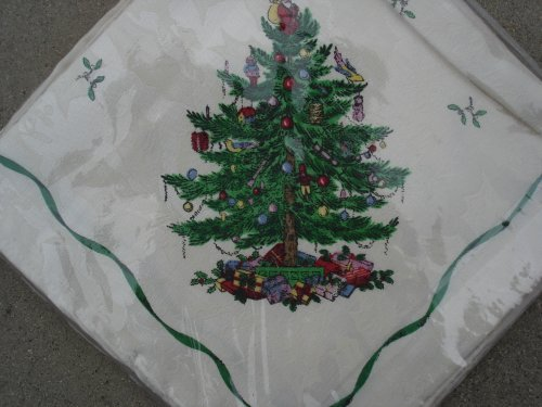 Spode Christmas Tree Cloth Napkins Set of 4 Spode Christmas Tree Cloth