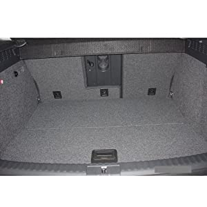 ZentimeX 4050319030577 Kofferraumwanne mit Antirutschmatte