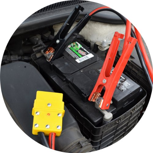 how to start an automatic car without jumper cables